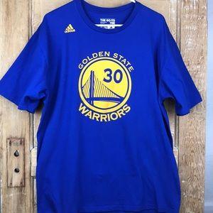Golden State Warriors Curry #30 short sleeve shirt